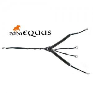 Pechopetral ingles EQuus Soft elastico C/tijerilla