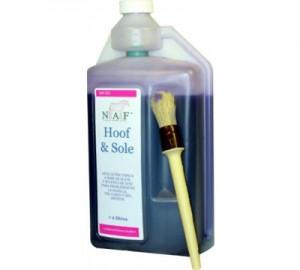 Desinfectante cascos NAF Hoof & Sole 1lt