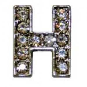 Letra H C/cristales P/frontalera