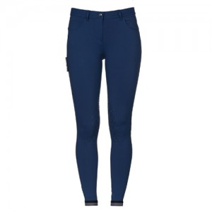 Pantalon Cavalleria Toscana New Grip System Piping Logo