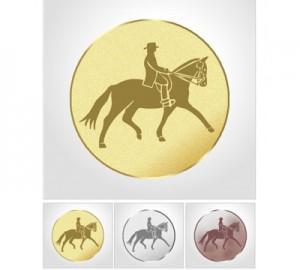 Emblema centro escarapela Premium Doma 5cm