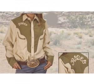 Camisa western LoboRiders's Rodeo LR034