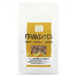 Golosinas Hippotonic Friandises platano & zanahoria 1kg