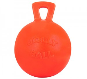 "Pelota Jolly Ball Cuadra & Libertad vainilla 10"""