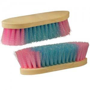 Cepillo sintetico multicolor mediano