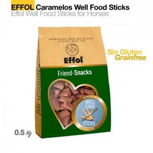 Golosinas Effol Well Food Sticks 500gr