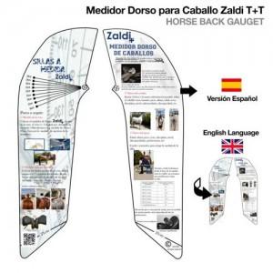 Medidor cruz Zaldi T+T