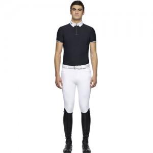 Polo concurso Cavalleria Toscana Bi Color S/S Zip
