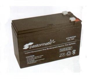 Bateria acumulador Pastormatic 12V 7Ah
