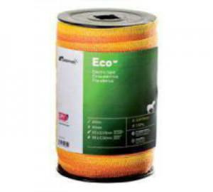 Cinta cercado Pastormatic Eco naranja/amarillo 20mm 200mts