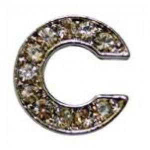 Letra C C/cristales P/frontalera