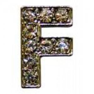 Letra F C/cristales P/frontalera