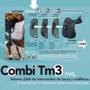Taco rodillera opcion Zaldi TM-S TACO MUSLERA