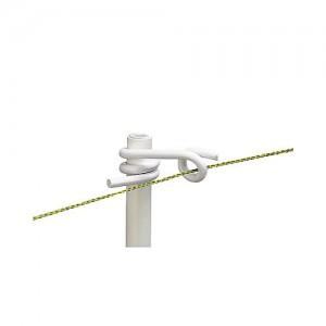 Aislador cuerda varilla cola de cerdo 10mm