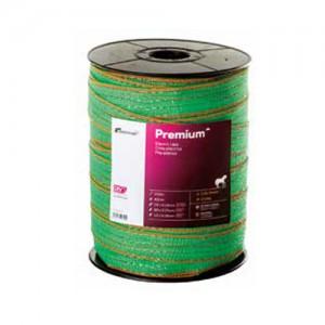 Cinta cercado Pastormatic Premium verde/naranja 40mm 200mts