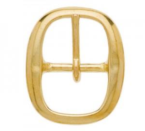 Hedilla cabezada cuadra dorada 12mm